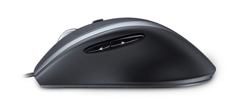 Corded Mouse M500, left side