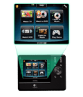 3.5-inch, full-color touch screen