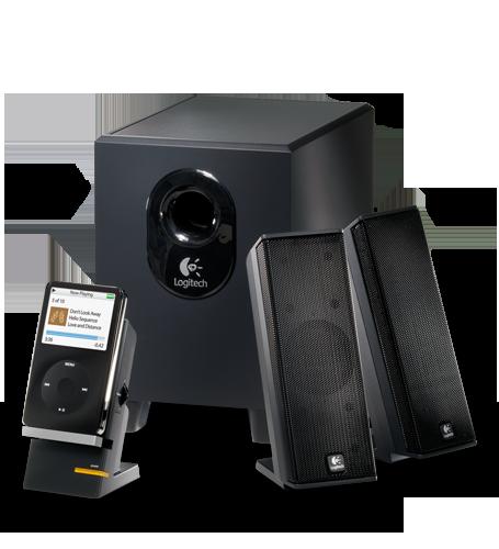 Logitech - Logitech X-240 2.1-Channel Speaker System - $25.99