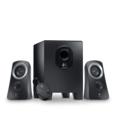 logitech speaker system z313. Black Bedroom Furniture Sets. Home Design Ideas