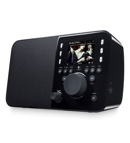 Logitech - Logitech Squeezebox WiFi Radio Music System - $89.99