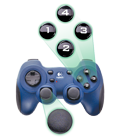 Dual Action Game Pad