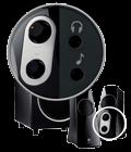 Convenient on-speaker controls