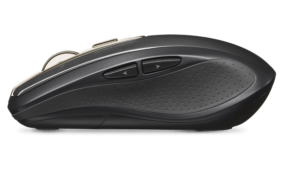 Anywhere Mouse MX left side view