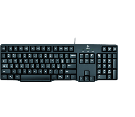 Classic Keyboard K100 Full Featured Minimal Design S 1300