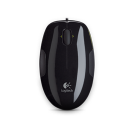 LS1 Laser Mouse Glamour Image MD BlackxGreen
