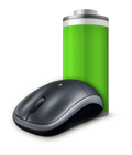 Wireless Mouse M215 - Duracell  AA battery