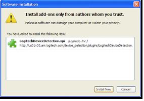 Install Plugin kiểm tra Product ID của Logitech
