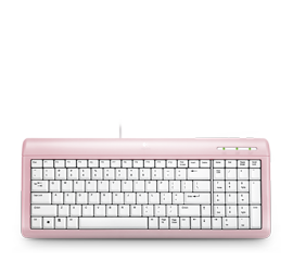Ultra-Flat Keyboard Pink