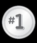 #1 badge