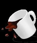 Spill-resistant design