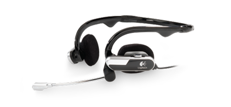 Logitech® Laptop Headset H555