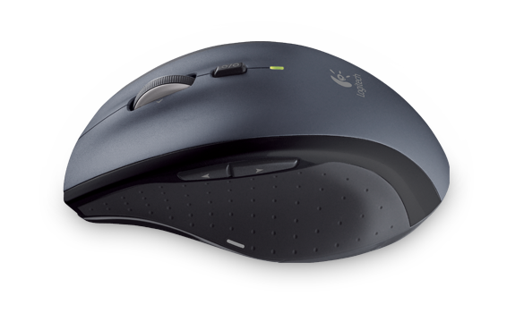 Part of a computer mouse