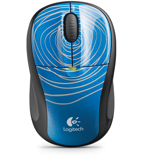 m305 blue swirl [Logitech] 2x Logitech Wireless Mouse M305 + Logitech Ultimate Ears 100 für 26,99€ inkl. Versand