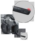 Microphone mute light