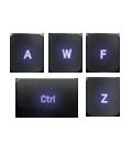Multi-key input