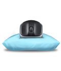 Hand-friendly optical mouse