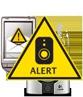 Motion-triggered alerts AMR
