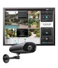 Outdoor digital video security system