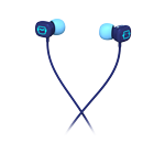 Ultimate Ears 100 Noise-Isolating Earphones Blue Robots Glamour Image SM
