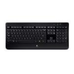 Wireless Illuminated Keyboard K800 Glamour Image SM