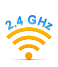 2.4 GHz wireless