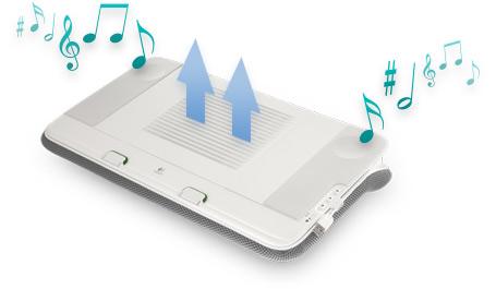 N700 Speaker Lapdesk