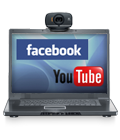 One-click upload to Facebook