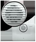 Virtually silent airflow