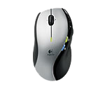 MX™ 610 Left-Hand Cordless Laser Mouse