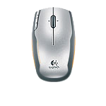 V400 Laser Cordless Mouse for Notebooks