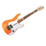 Logitech Wireless Guitar Controller Orange