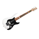 Logitech-Wireless-Guitar-Controller Black and White