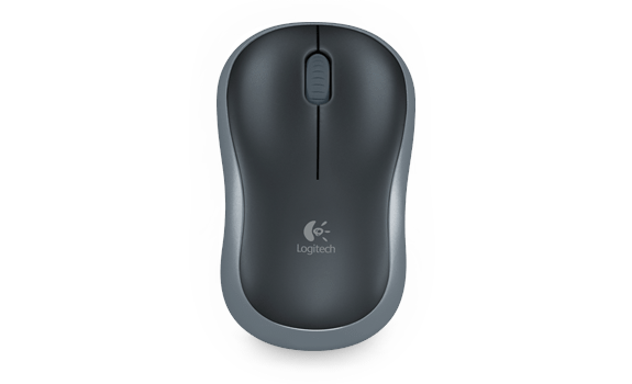 Wireless Mouse M185 Dark Grey Gallery 1