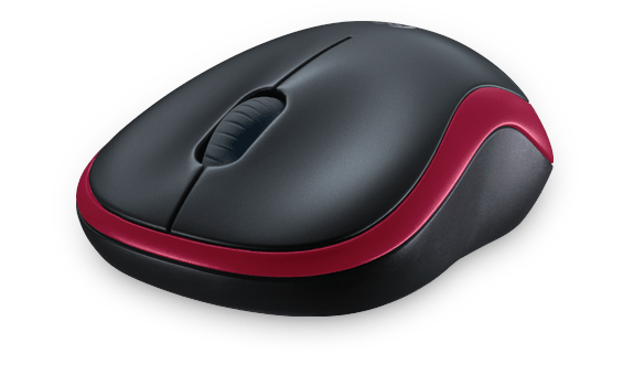 Wireless Mouse M185 Red Gallery 10