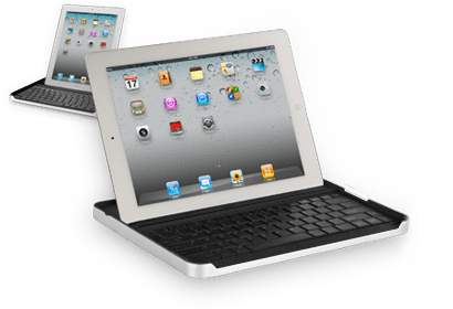 TigerDirect - Bluetooth Keyboard & Carrying Case for iPad 2 - $17.99 AR