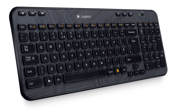 Wireless Keyboard K360 Grey Black Gallery 2