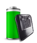 Efficient USB powered fan