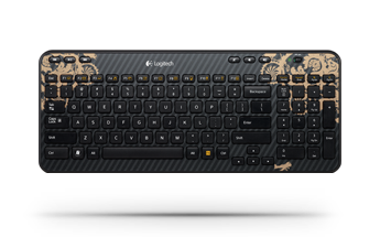 Wireless Keyboard K360 Victorian Wallpaper