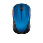 Wireless Mouse M315 and M235 Blue Steel