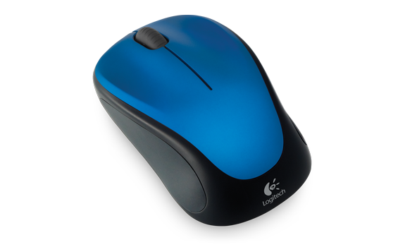 Wireless Mouse M315 and M235 Blue Steel Gallery 3