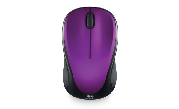 Wireless Mouse M315 and M235 Vivid Violet Gallery 1