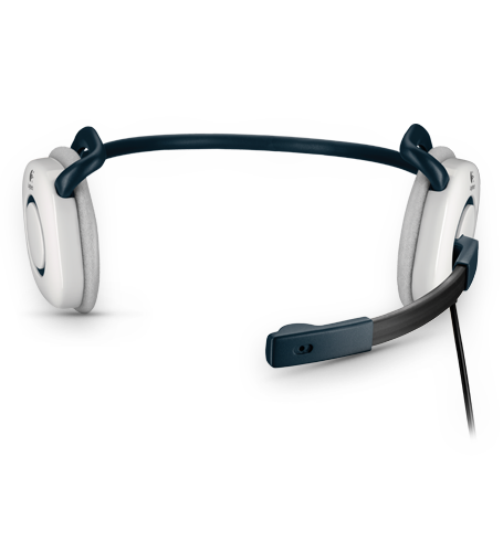 Stereo Headset H130 White