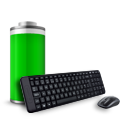Kit Teclado e Mouse Logitech Wireless Combo MK220