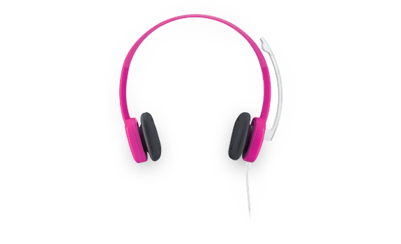 Stereo Headset H150 Fuchsia Pink Gallery 7