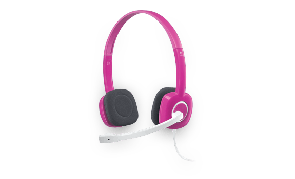 Stereo Headset H150 Fuchsia Pink Gallery 8