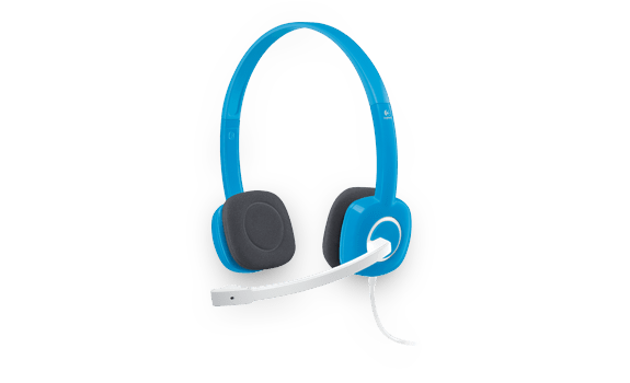 Stereo Headset H150 Sky Blue Gallery 12