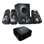 Surround Sound Speakers Z506 & Wireless Bluetooth Adapter