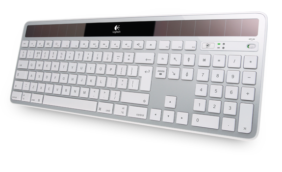 Wireless Solar Keyboard K750 EMEA Silver for Mac Gallery 1