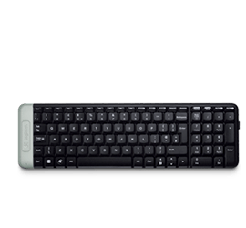 Wireless Keyboard K230 Dark Grey